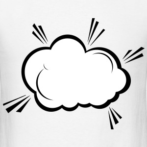Explosion Cloud (2c)++2012 T-Shirts - Men's T-Shirt