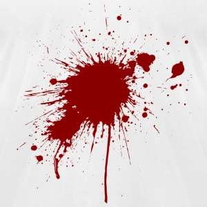 Blood Spatter 1 (dd)++2012 T-Shirts - Men's T-Shirt by American Apparel