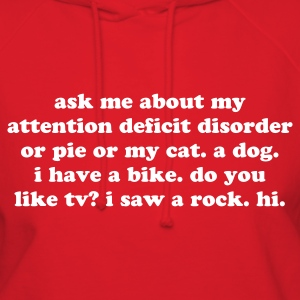 Ask me about my ADHD - Women's Hoodie