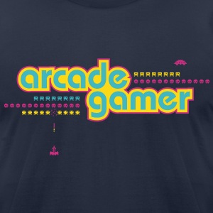 arcadegamer typo T-Shirts - Men's T-Shirt by American Apparel