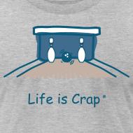 Design ~ Split Bowling - Mens T-Shirt by American Apparel