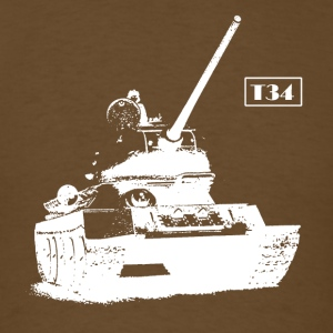 T-34 Soviet Tank 2nd World War Russia 1940 Ussr - Men's T-Shirt