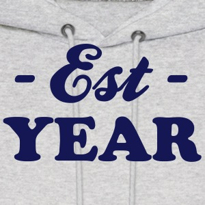 birthday - YOUR YEAR Hoodies - Men's Hoodie
