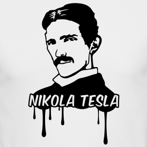 Nikola Tesla Long Sleeve Shirts - Men's Long Sleeve T-Shirt by Next Level