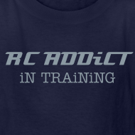Design ~ RC ADDiCT - iN TRAiNiNG - Metallic Chrome