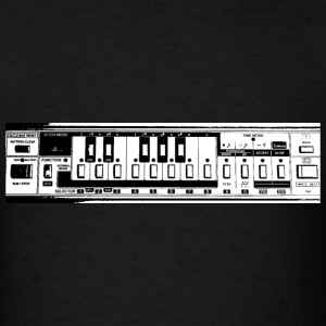 tb 303 analog synth drum machine rhythm techno 90s T-Shirts - Men's T-Shirt