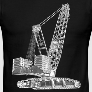 Crawler Crane 750t T-Shirts - Men's Ringer T-Shirt