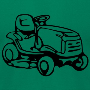 spare time mower - Men's T-Shirt by American Apparel