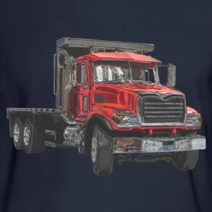 Flatbed Truck - Red Long Sleeve Shirts - Men's Long Sleeve T-Shirt
