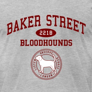 Baker Street Bloodhounds (Men) - Men's T-Shirt by American Apparel