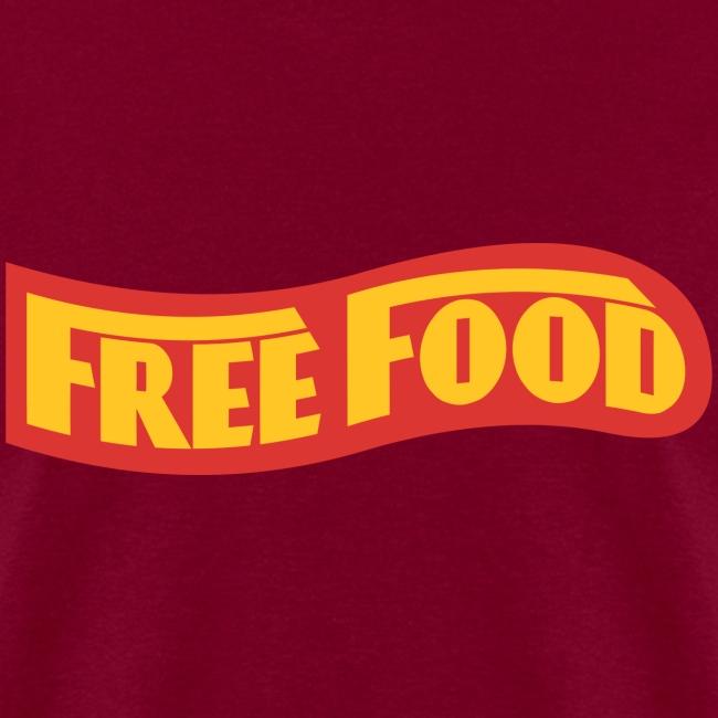 Free Food logo shirt