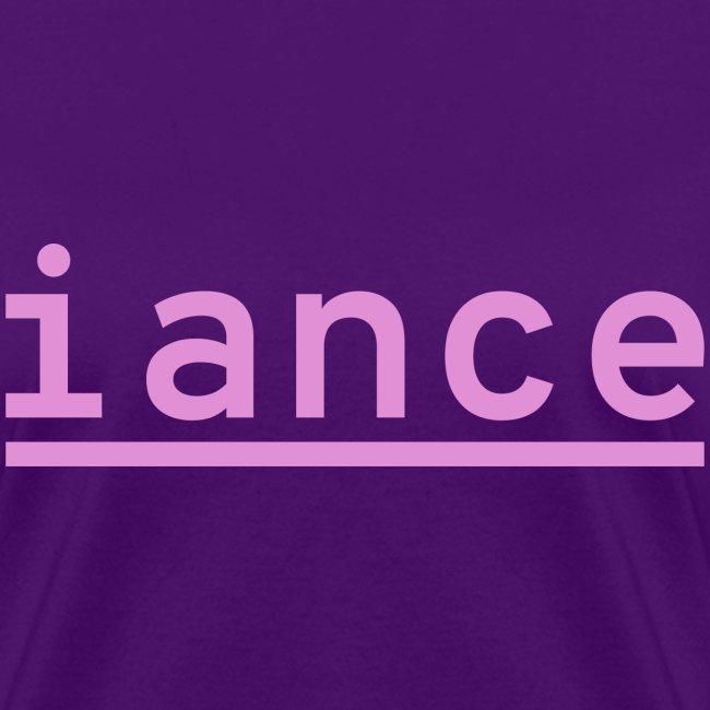 iance logo shirt
