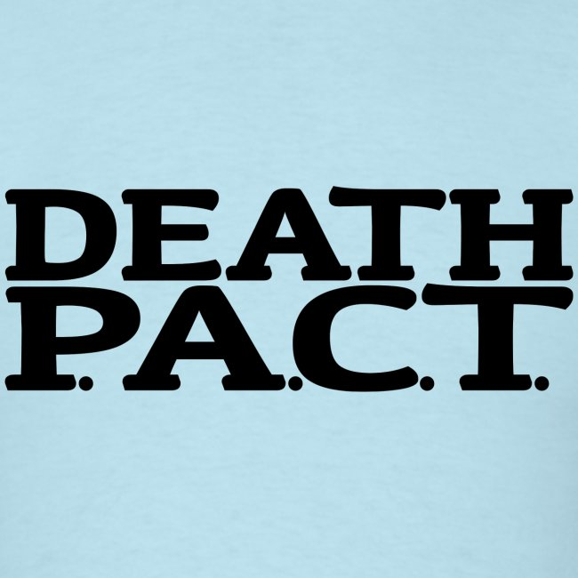 Death P.A.C.T. logo shirt