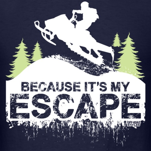 Snowmobile Because Escape