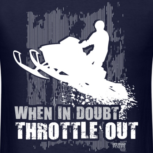 Snowmobile Doubt Throttle