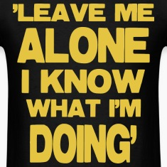 Leave Me Aloe -yellow T-Shirts