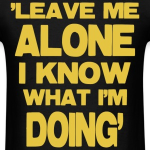 Leave Me Aloe -yellow T-Shirts - Men's T-Shirt