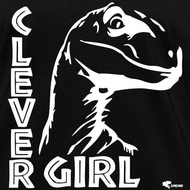 Carcayu T Shirts Clever Girl Jurassic Park Womens T Shirt