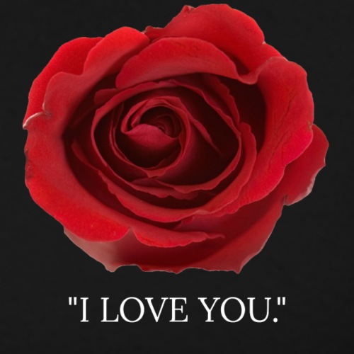 i love you rose with lett
