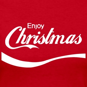 Enjoy Christmas Long Sleeve Shirts - Women's Long Sleeve Jersey T-Shirt