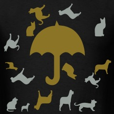raining_cats_and_dogs3 T-Shirts