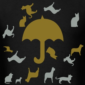raining_cats_and_dogs3 T-Shirts - Men's T-Shirt