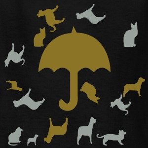 raining_cats_and_dogs3 Kids' Shirts - Kids' T-Shirt