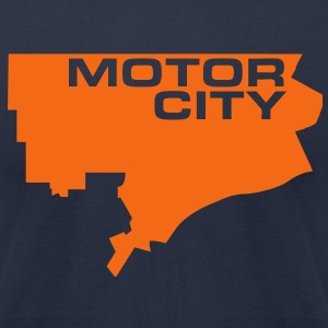 Motor City T-Shirts - Men's T-Shirt by American Apparel