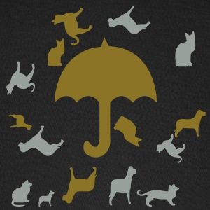 raining_cats_and_dogs3 Caps - Baseball Cap