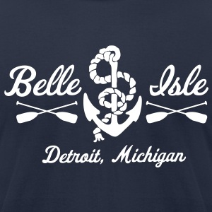 Belle Isle T-Shirts - Men's T-Shirt by American Apparel