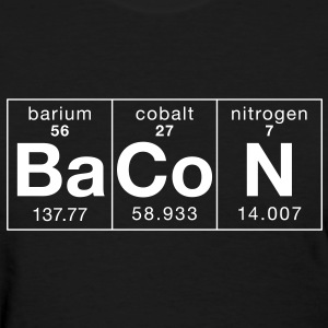 The Elements of BaCoN - Women's T-Shirt