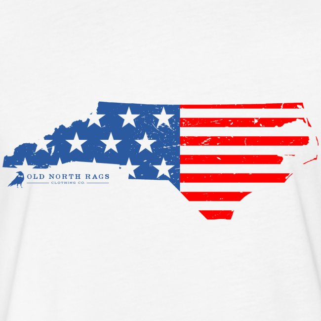 NC USA Flag T-Shirt