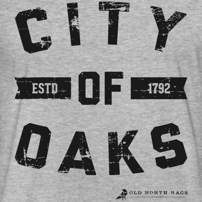 City of Oaks Raleigh Men's T-Shirt
