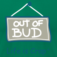 Design ~ Out Of Bud - Mens T-shirt by American Apparel