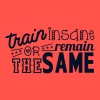 train insane or remain the same Tanks - Women's Flowy Tank Top by Bella
