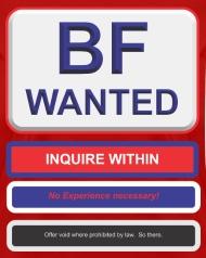 Wanted boyfriend online