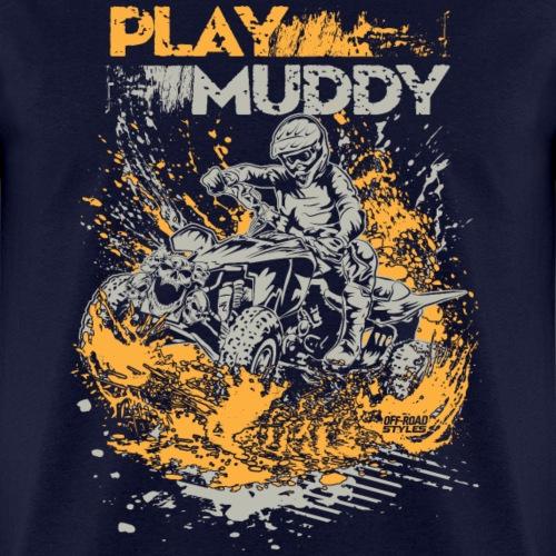 ATV Quad Play Muddy