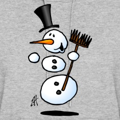 Dancing snowman Hoodies