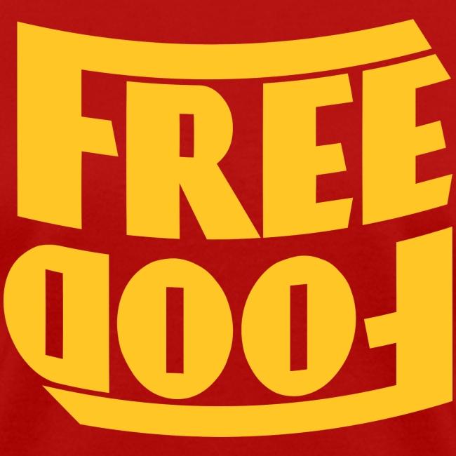 Free Food hanger shirt
