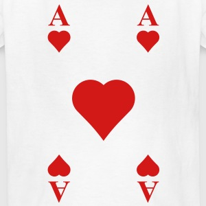 ace of hearts Kids' Shirts - Kids' T-Shirt