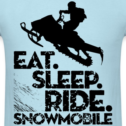 Snowmobiling Eat Sleep
