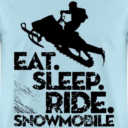 Snowmobiling Eat Sleep