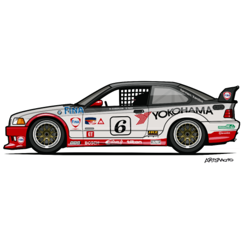 Bavarian 3 Series E36 M3 GTS-2 PTG Race Car