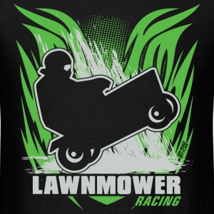 Lawnmower Racing Badge