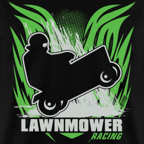 Lawnmower Racing Flame