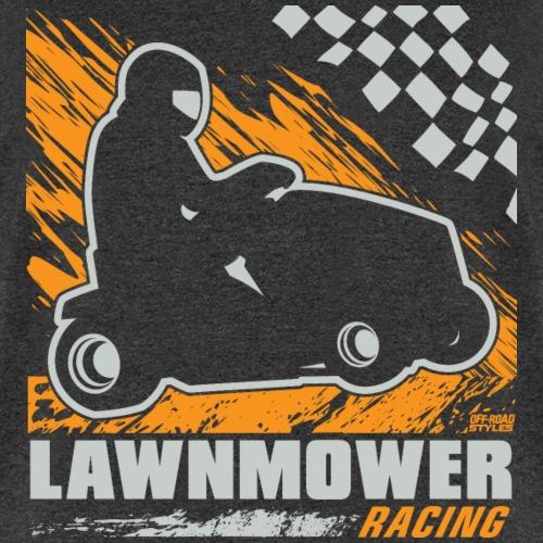 Lawnmower Racing Flag