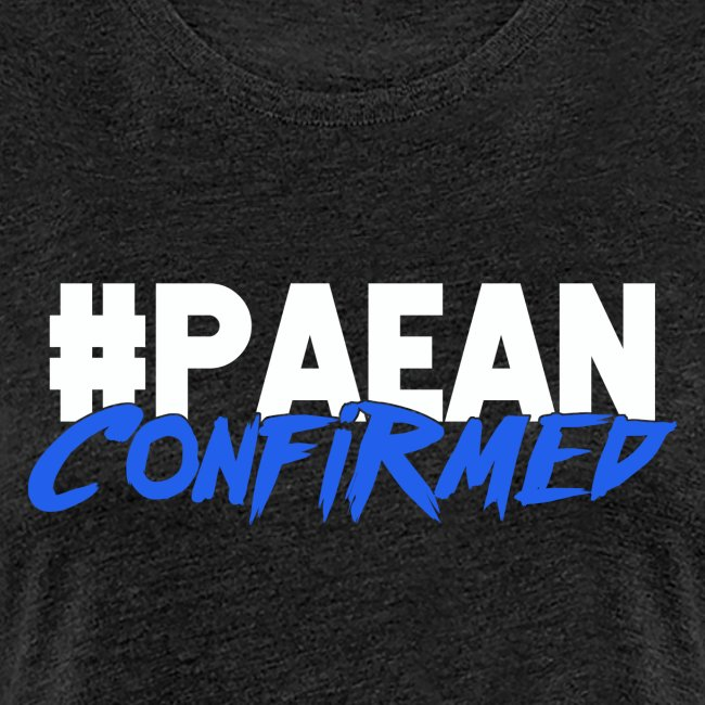 Paean Confirmed Womens Blue