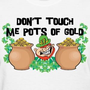 Leprechaun Pot of Gold Women's T-Shirt - Women's T-Shirt