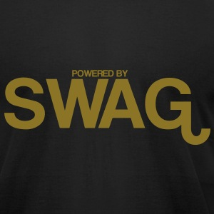 powered_by_swag T-Shirts - Men's T-Shirt by American Apparel