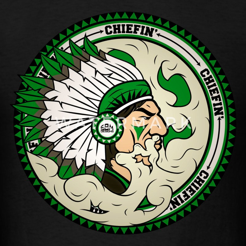 Chiefin' T-Shirt - Men's T-Shirt
